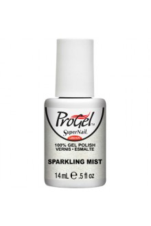 SuperNail ProGel Polish - Sparkling Mist - 0.5oz / 14ml