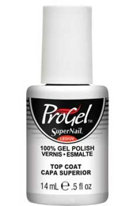 SuperNail ProGel Polish - Top Coat - 0.5oz / 14ml