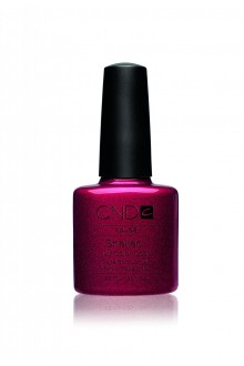 CND Shellac Power Polish - Red Baroness - 0.25oz / 7.3ml