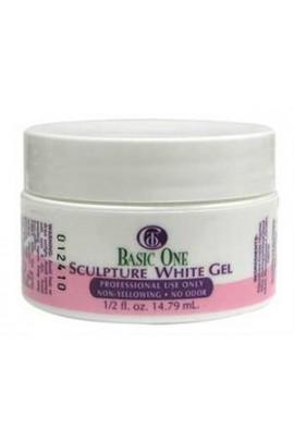 Christrio BASIC ONE Sculpture White Gel - 0.5oz / 14g