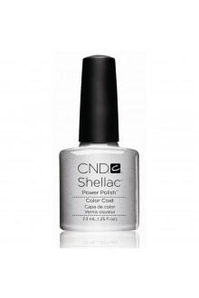 CND Shellac Power Polish - Silver Chrome - 0.25oz / 7.3ml