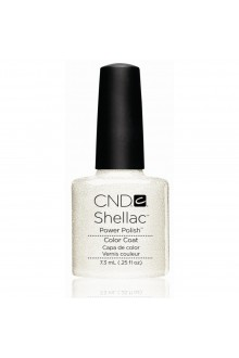 CND Shellac Power Polish - Silver VIP Status - 0.25oz / 7.3ml