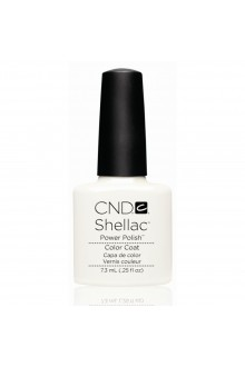 CND Shellac Power Polish - Studio White - 0.25oz / 7.3ml