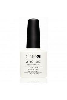 CND Shellac Power Polish - Studio White - 0.25oz / 7.3ml