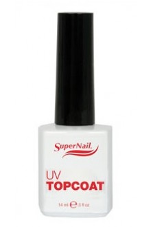 SuperNail UV TopCoat - 0.5oz / 14ml