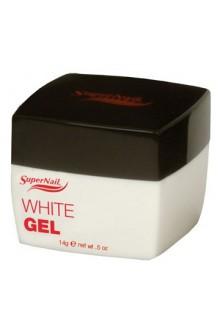 SuperNail White Gel - 0.5oz / 14g