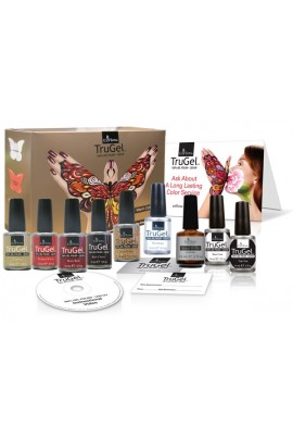 EzFlow TruGel Polish Warm Collection Kit - 9pc