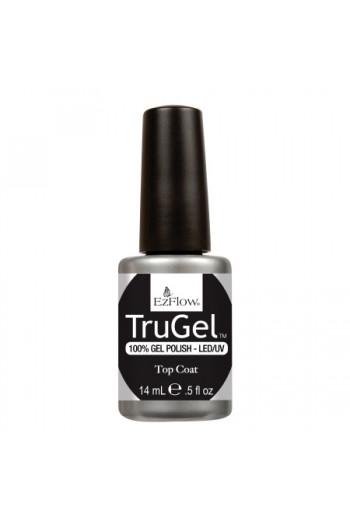 EzFlow TruGel LED/UV Gel Polish - Top Coat - 0.5oz / 14ml