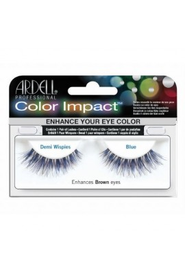 Ardell Color Impact Lashes - Demi Wispies - Blue