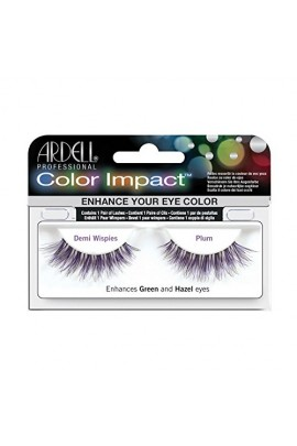Ardell Color Impact Lashes - Demi Wispies - Plum