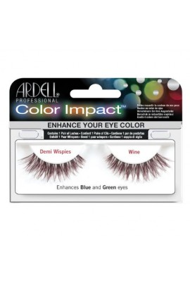 Ardell Color Impact Lashes - Demi Wispies - Wine