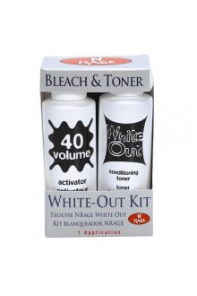 Ardell - 'N Rage White-Out Kit - Bleach & Toner - Conditioning Toner & Activator