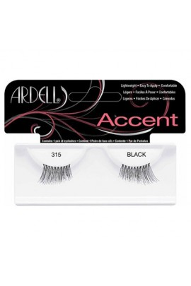 Ardell Accent Lashes - Black 315