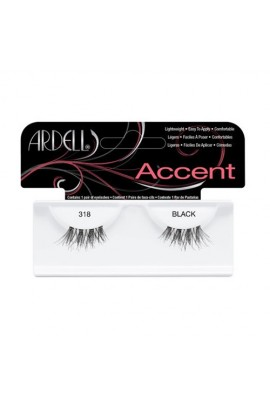 Ardell Accent Lashes - Black 318