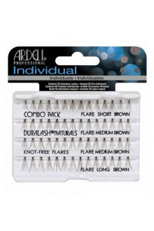 Ardell Individual - Knot-Free - Combo Brown