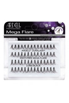 Ardell Mega Flare Individuals Lashes - Knot-Free - Long Black