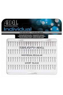 Ardell Individual - Singles Knotted - Regular Short Black