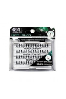 Ardell Soft Touch - Knot-Free Tapered Individual Eyelashes - Short Black