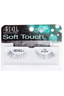 Ardell Soft Touch - Tapered Tip Lashes - Black 150