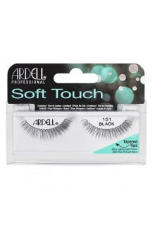 Ardell Soft Touch - Tapered Tip Lashes - Black 151
