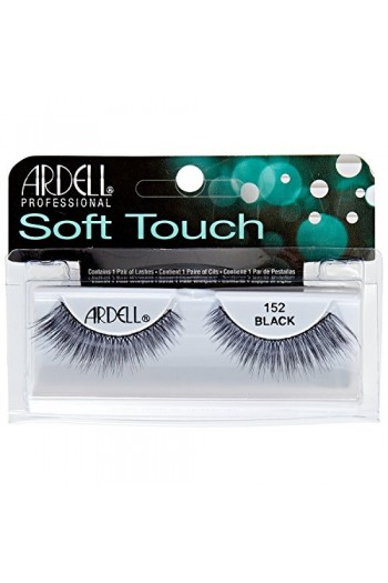 d071488b83f Ardell Soft Touch - Tapered Tip Lashes - Black 152