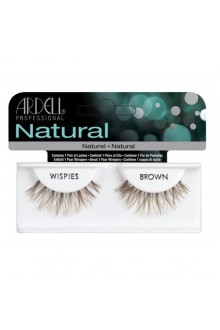 Ardell Natural Lashes - Wispies Brown