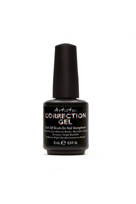 Artistic Colour Gloss - Correction Gel - Soak Off Brush On Nail Strengthener - 0.5oz / 15ml