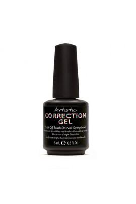 Artistic Colour Gloss - Correction Gel - Soak Off Brush On Nail Strengthener - 0.5oz / 15ml