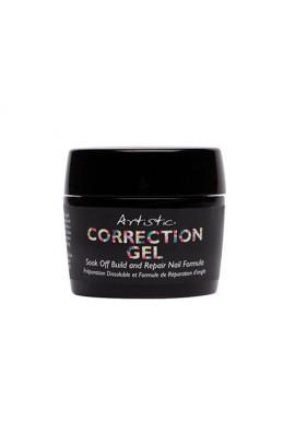 Artistic Colour Gloss - Correction Gel - Soak Off Build and Repair Nail Formula - 0.5oz / 15ml