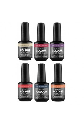 Artistic Colour Gloss - Holiday Nights 2016 Collection - 0.5oz / 15ml each -  All 6 Colors