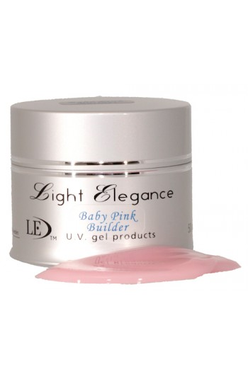 Light Elegance Uv Gel Baby Pink Builder 1 79oz 50ml