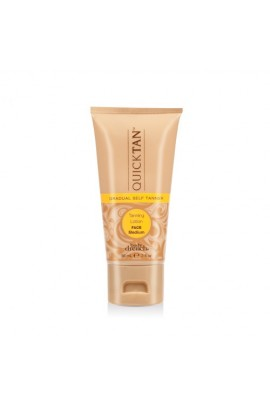 Body Drench Quick Tan - Gradual Face Tanning Lotion - Medium - 2oz / 59ml