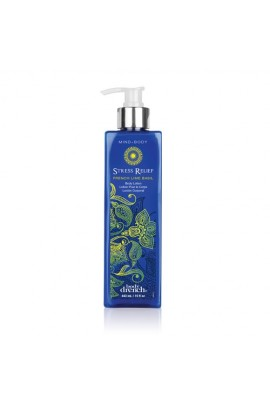 Body Drench Mind + Body Lotion - Stress Relief - French Lime Basil - 15oz / 443ml