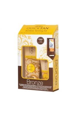 Body Drench Quick Tan - Sunless Tanning Kit - Bronze - FREE Lip Balm