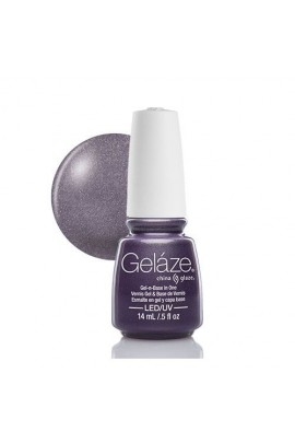 China Glaze Gelaze Gel Polish - Avalanche - 0.5oz / 14ml