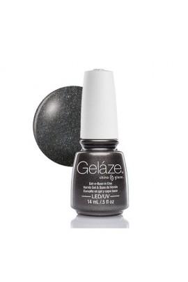 China Glaze Gelaze Gel Polish - Black Diamond - 0.5oz / 14ml