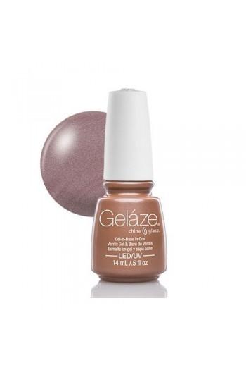 China Glaze Gelaze Gel Polish - Camisole - 0.5oz / 14ml