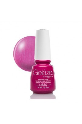 China Glaze Gelaze Gel Polish - Caribbean Temptation  - 0.5oz / 14ml