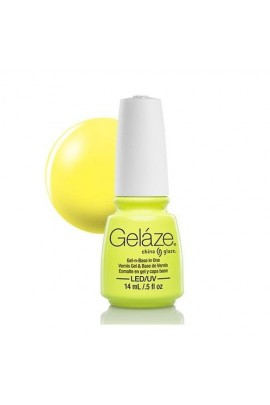 China Glaze Gelaze Gel Polish - Celtic Sun - 0.5oz / 14ml