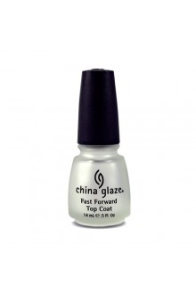 China Glaze Treatment - Fast Forward Top Coat - 0.5oz / 14ml