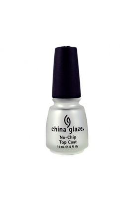 China Glaze Treatment - No-Chip Top Coat - 0.5oz / 14ml