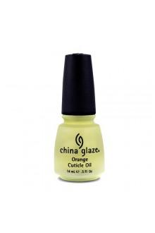 China Glaze Treatment - Orange Cuticle Oil - 0.5oz / 14ml
