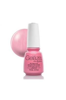 China Glaze Gelaze Gel Polish - Exceptionally Gifted - 0.5oz / 14ml