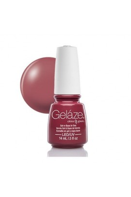 China Glaze Gelaze Gel Polish - Fifth Avenue - 0.5oz / 14ml