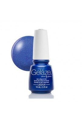 China Glaze Gelaze Gel Polish - Frostbite - 0.5oz / 14ml