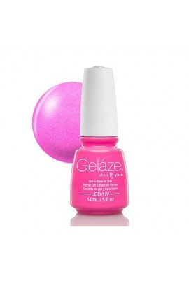 China Glaze Gelaze Gel Polish - Hang-Ten Toes - 0.5oz / 14ml