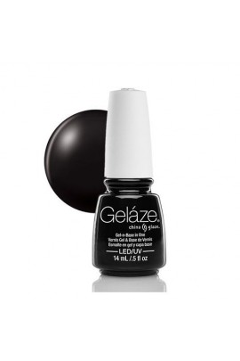China Glaze Gelaze Gel Polish - Liquid Leather - 0.5oz / 14ml