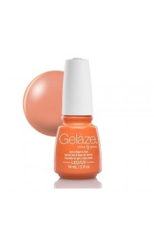 China Glaze Gelaze Gel Polish - Peachy Keen - 0.5oz / 14ml