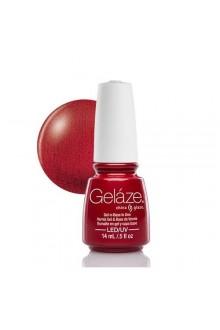 China Glaze Gelaze Gel Polish - Red Pearl - 0.5oz / 14ml