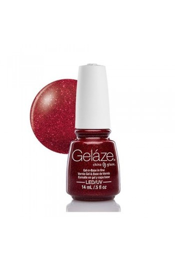 China Glaze Gelaze Gel Polish - Ruby Pumps - 0.5oz / 14ml